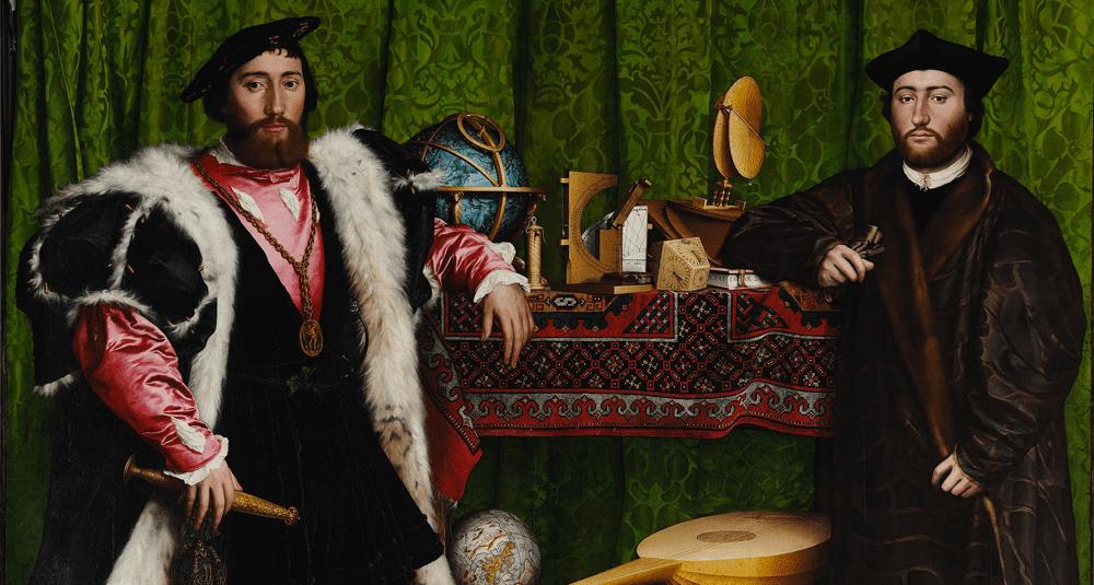 ou-est-exposee-l-oeuvre-les-ambassadeurs-peinte-par-hans-holbein-le-jeune-en-1533