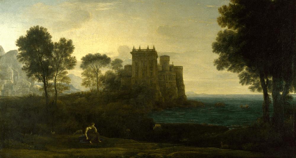 ou-est-exposee-l-oeuvre-paysage-avec-psyche-a-l-exterieur-du-palais-de-cupidon-peinte-par-claude-lorrain-en-1664