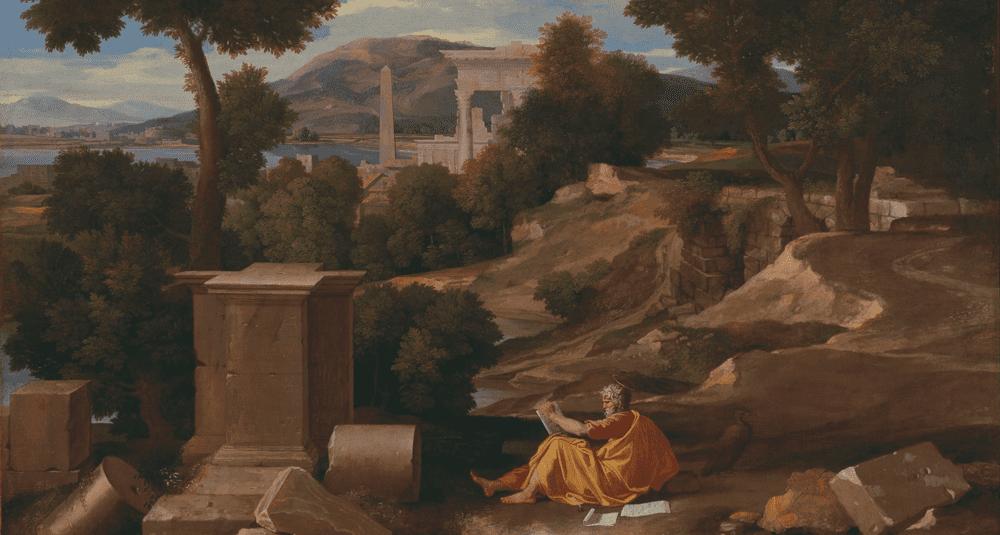 ou-est-exposee-l-oeuvre-paysage-avec-saint-jean-a-patmos-peinte-par-nicolas-poussin