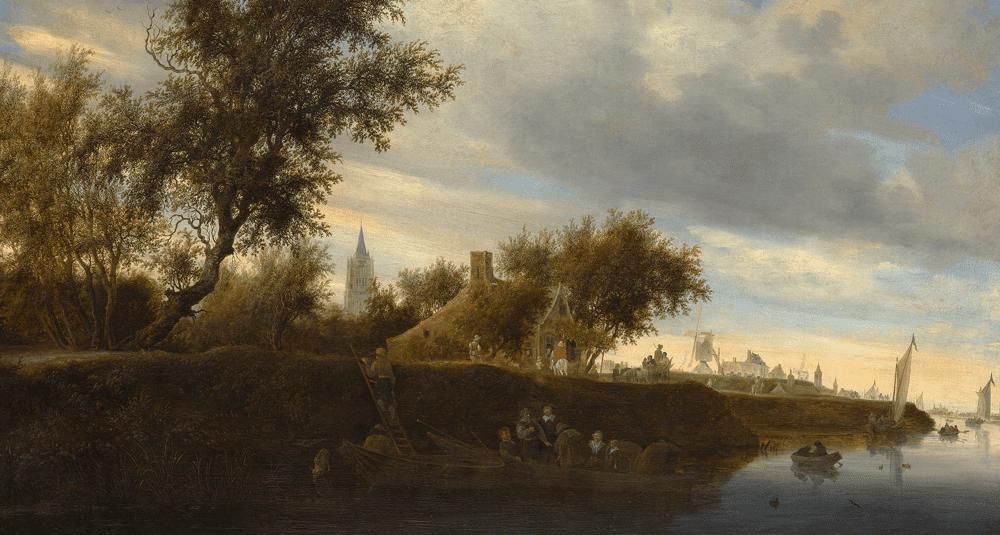 quel-peintre-neerlandais-a-realise-ferry-pres-de-gorinchem